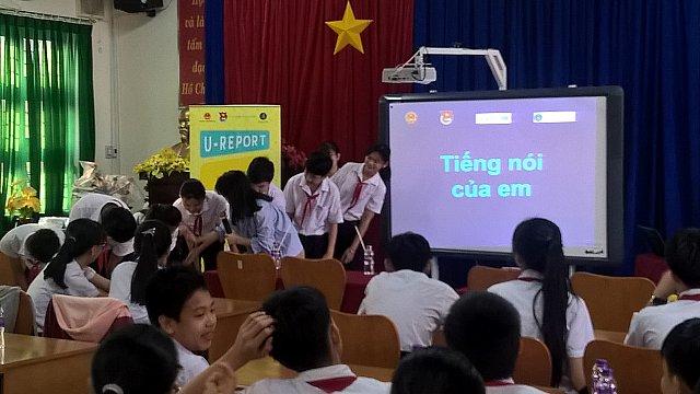 """Học sinh tham gia chuyên đề """"Tiếng nói của e"""""""